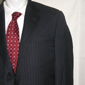 Hickey Freeman Madison Two Button Suit 42 L 36 W